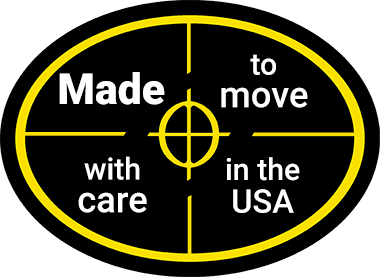 Coda is made to move, and is made with care in the USA