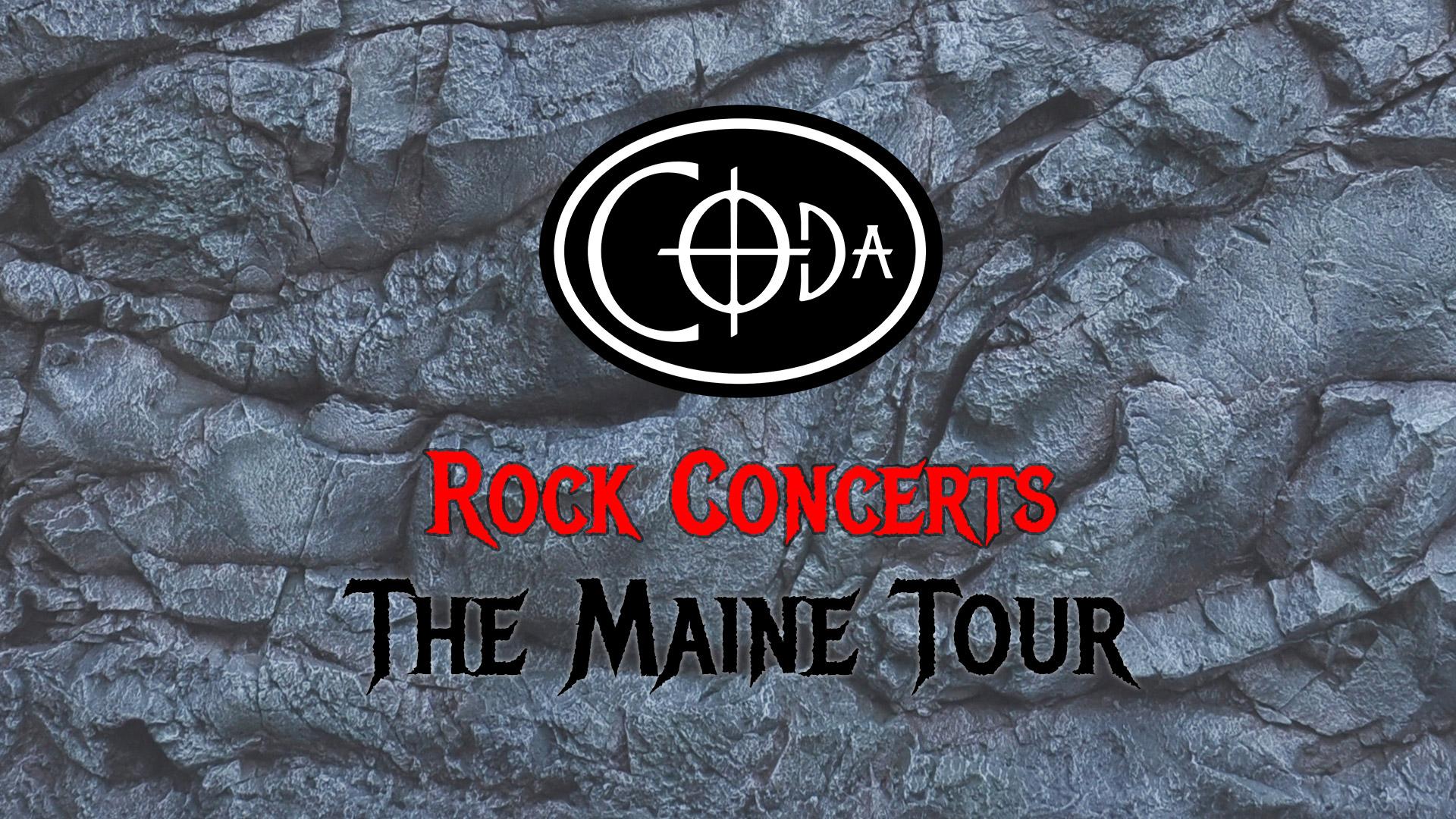 Coda Rock concert main slide